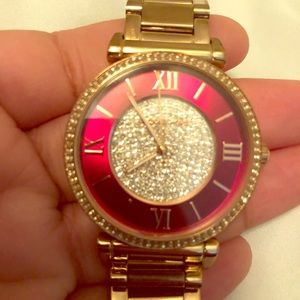Michael Kors watch with links and box